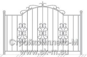 Кованый забор, артикул З-043