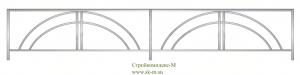 Кованая ограда, артикул Ог-19