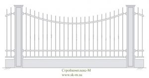 Кованый забор, артикул З-002
