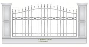 Кованый забор, артикул З-047